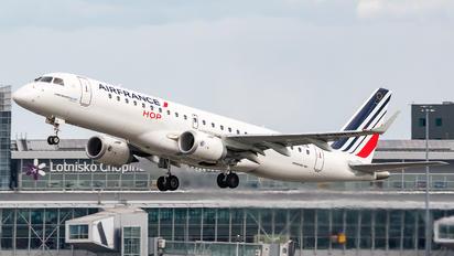 F-HBLN - Air France - Hop! Embraer ERJ-190 (190-100)