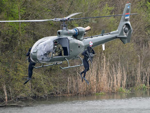 12712 - Serbia - Air Force Aerospatiale SA-341 / 342 Gazelle (all models)