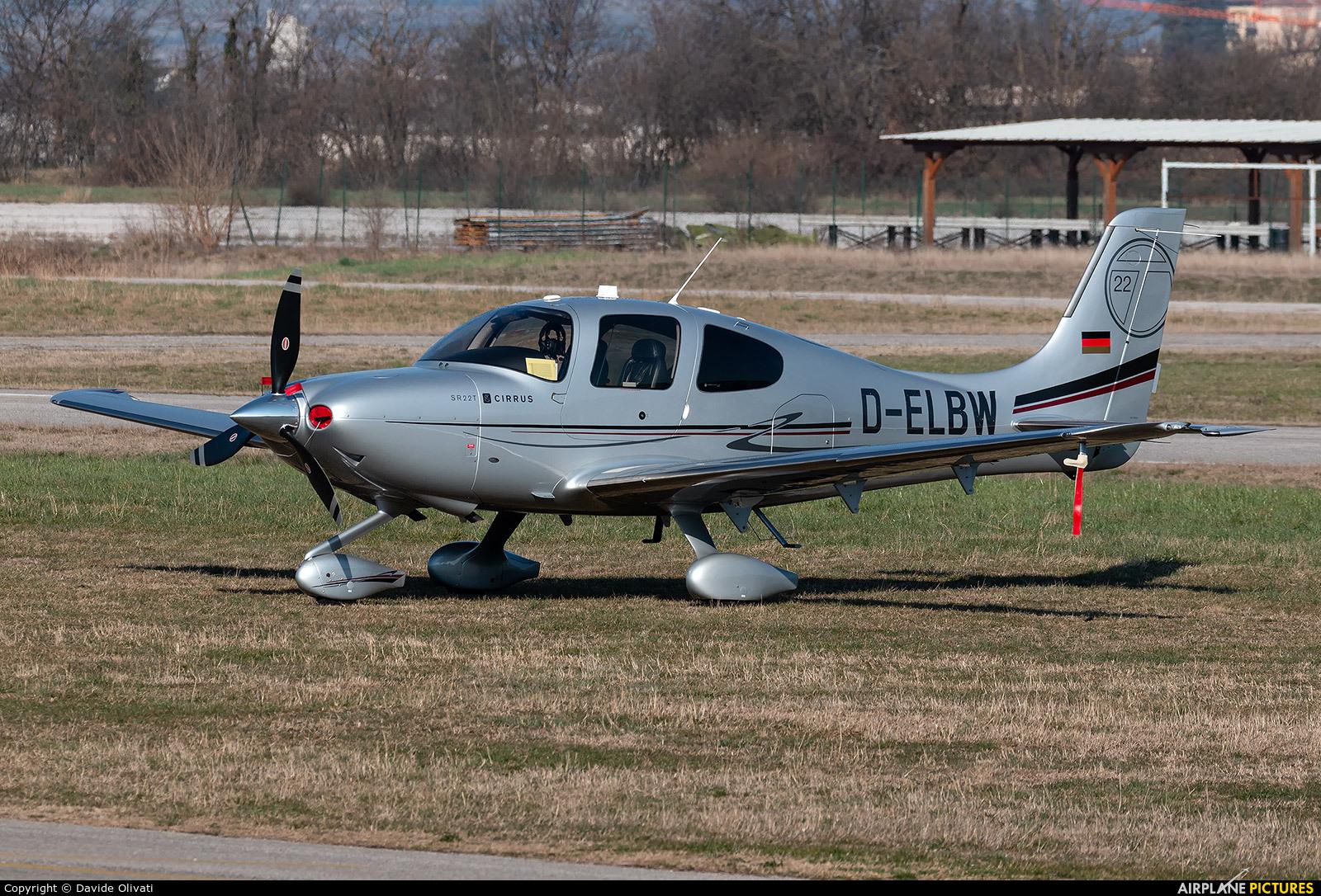 Private D-ELBW aircraft at Verona - Boscomantico