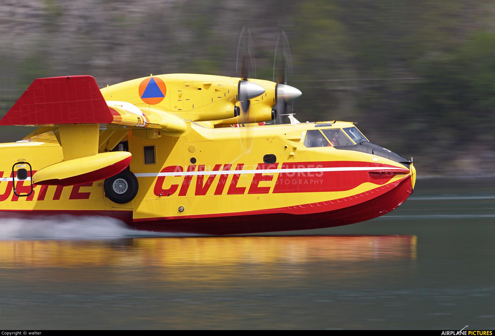 France - Sécurité Civile F-ZBFX aircraft at Off Airport - France