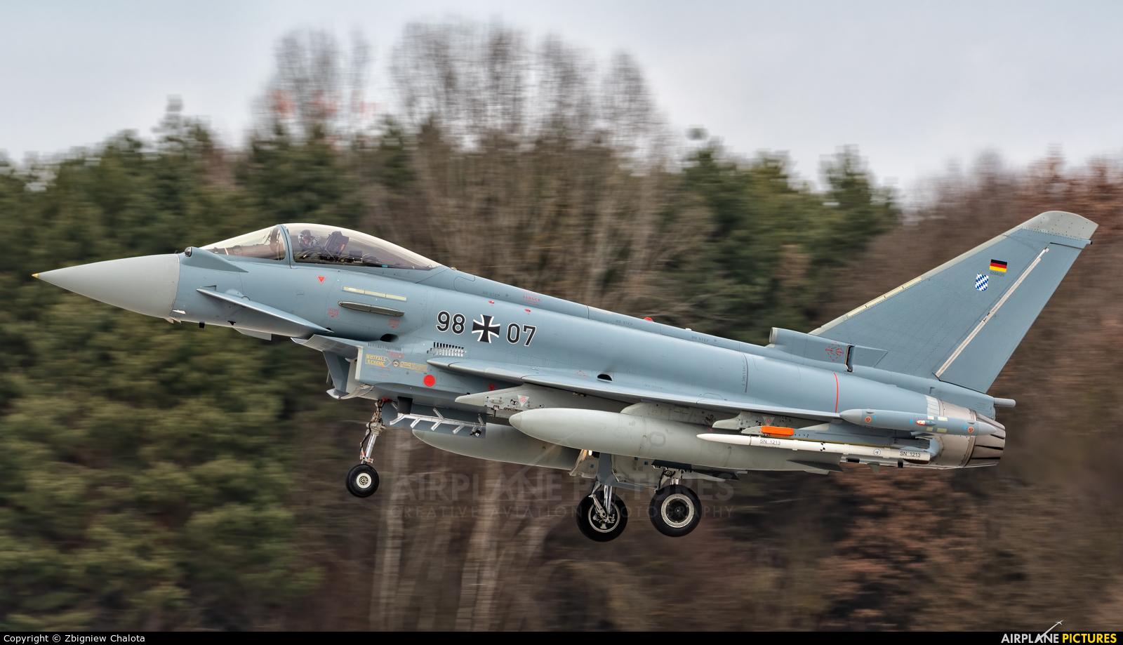 Germany - Air Force 98+07 aircraft at Ingolstadt - Manching