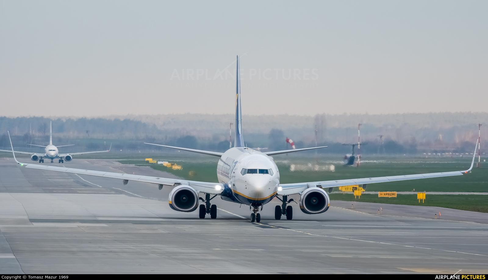 Ryanair Sun SP-RKQ aircraft at Katowice - Pyrzowice