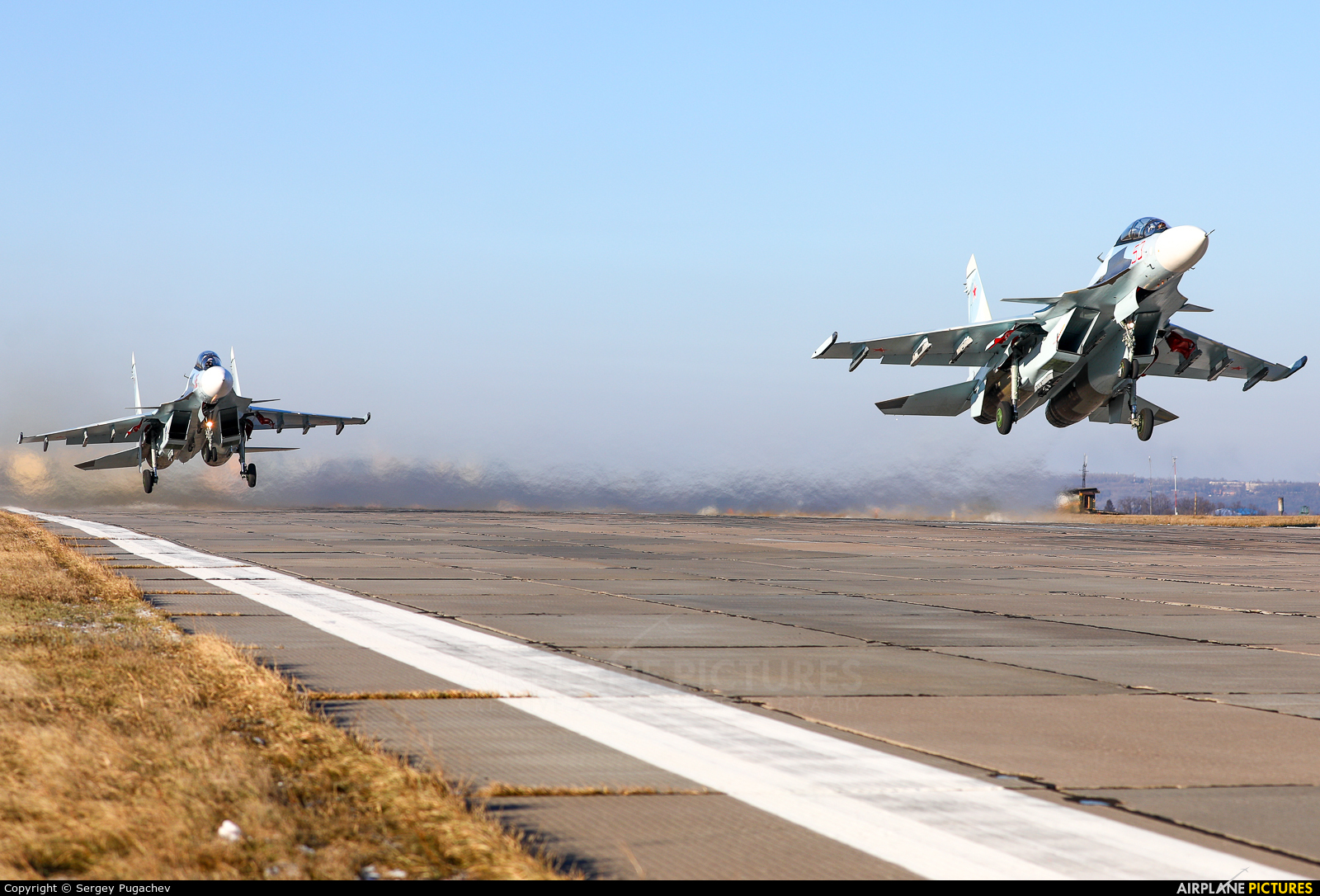 Russia - Air Force 53 aircraft at Undisclosed Location