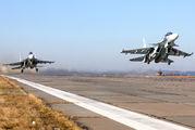 53 - Russia - Air Force Sukhoi Su-30SM aircraft