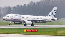 SX-DGR - Aegean Airlines Airbus A320 aircraft
