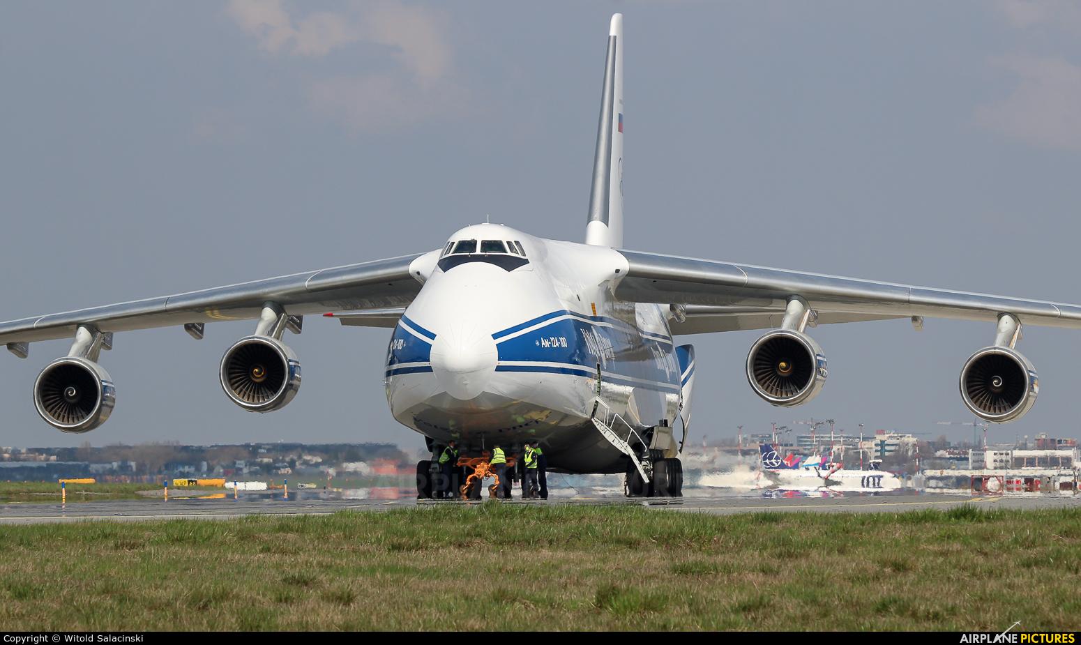 Volga Dnepr Airlines RA-82046 aircraft at Warsaw - Frederic Chopin