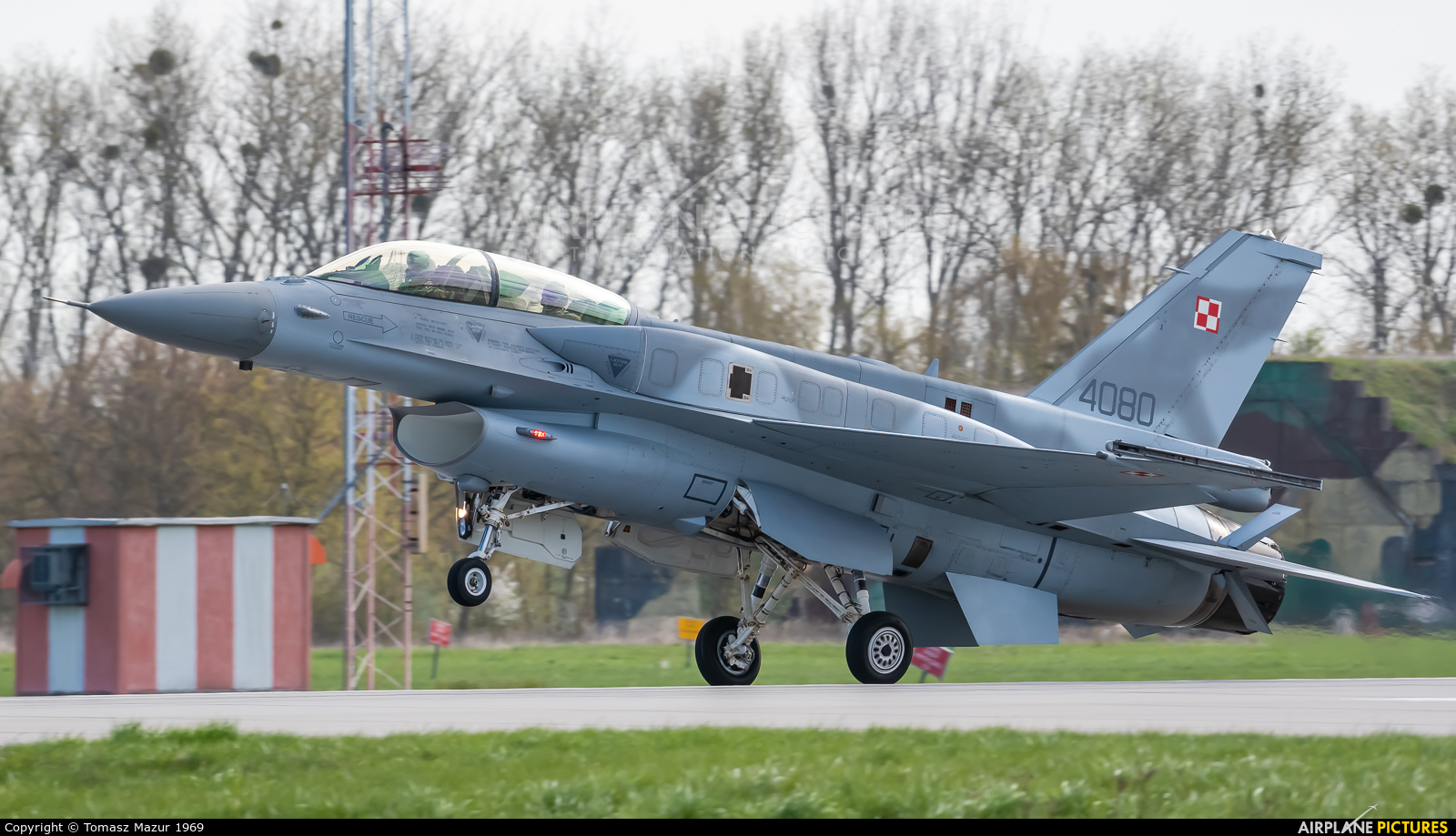 Poland - Air Force 4080 aircraft at Poznań - Krzesiny