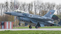 4080 - Poland - Air Force Lockheed Martin F-16D block 52+Jastrząb aircraft