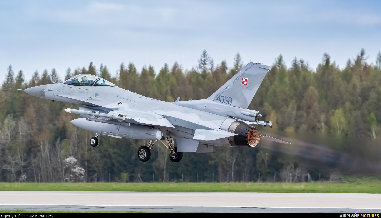 Poland - Air Force 4058 aircraft at Poznań - Krzesiny