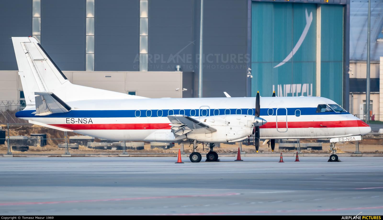 NYX AIR ES-NSA aircraft at Katowice - Pyrzowice