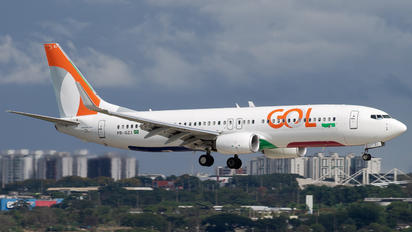 PR-GZJ - GOL Transportes Aéreos  Boeing 737-8K2