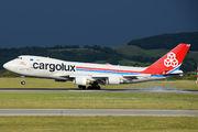 LX-MCL - Cargolux Boeing 747-400F, ERF aircraft