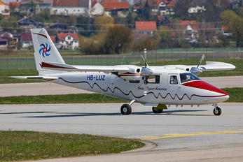 HB-LUZ - Swiss Flight Services Partenavia P.68