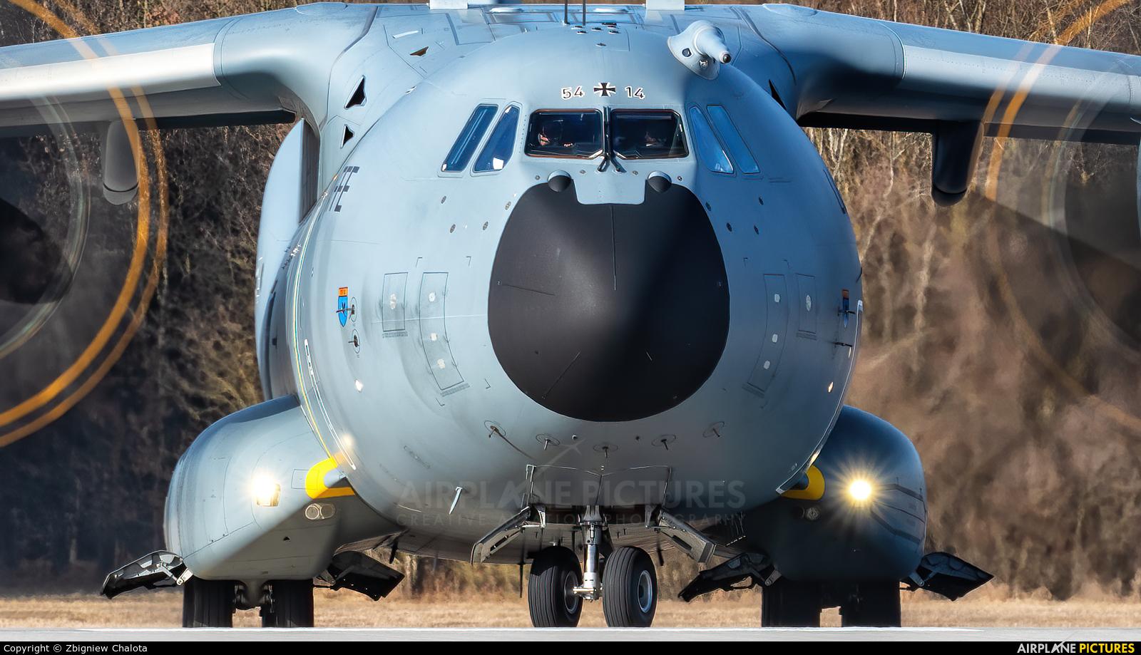 Germany - Air Force 54+14 aircraft at Ingolstadt - Manching