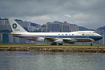PP-VNB - VARIG Boeing 747-200