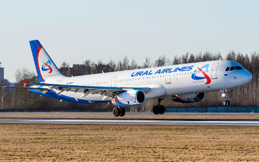 VP-BVF - Ural Airlines Airbus A321