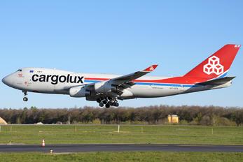 LX-UCV - Cargolux Boeing 747-400F, ERF