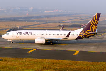 VT-TGA - Vistara Boeing 737-800