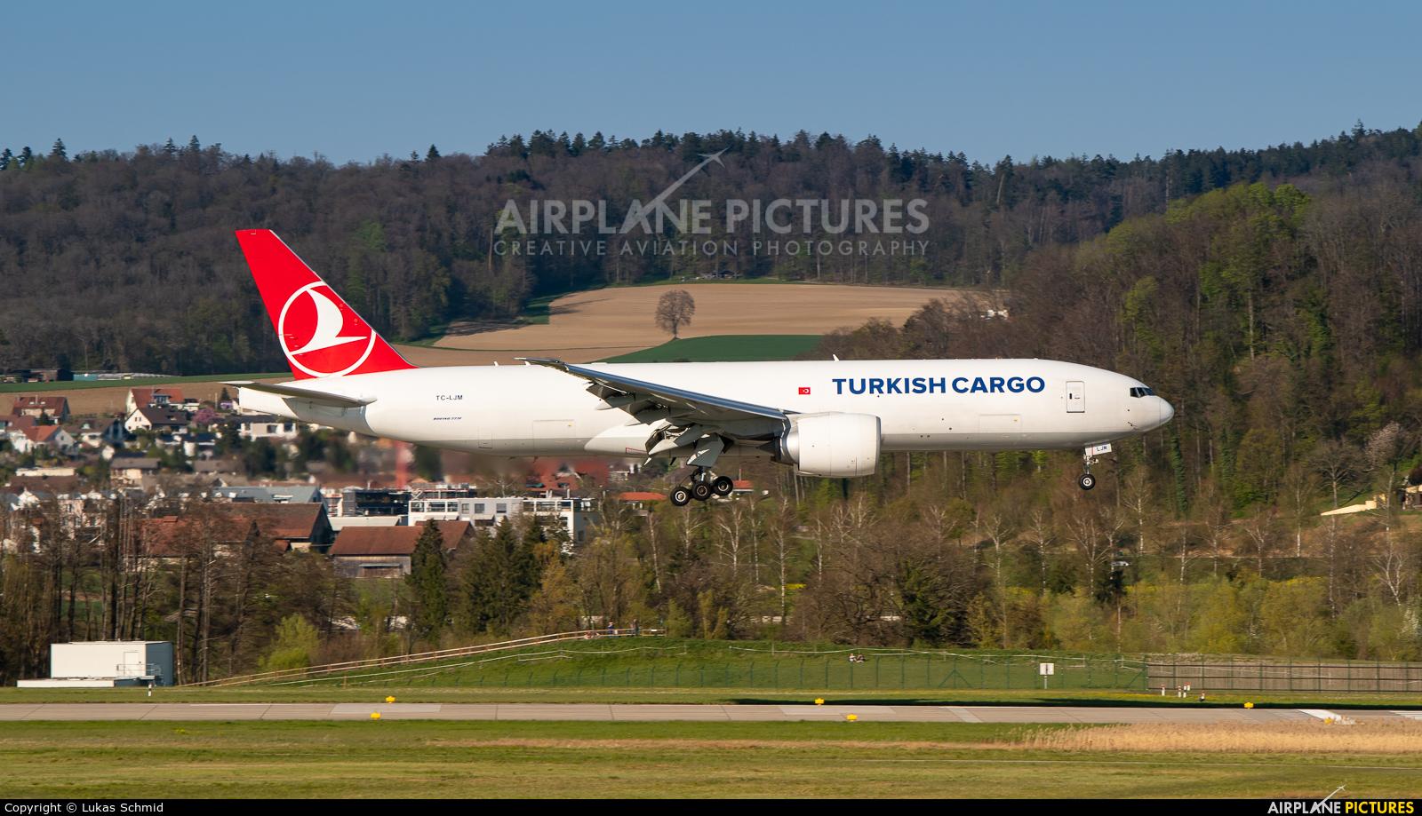Turkish Cargo TC-LJM aircraft at Zurich