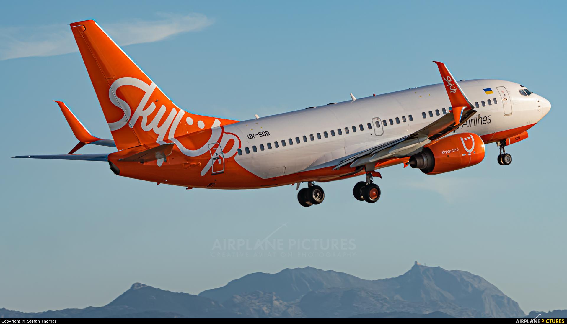 SkyUp Airlines UR-SQD aircraft at Palma de Mallorca