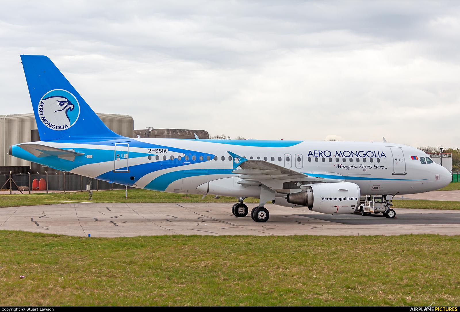 Aero Mongolia 2-SSIA aircraft at East Midlands