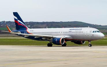 VP-BAC - Aeroflot Airbus A320
