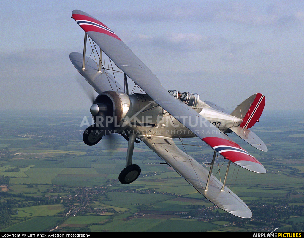 The Shuttleworth Collection G-AMRK aircraft at In Flight - England