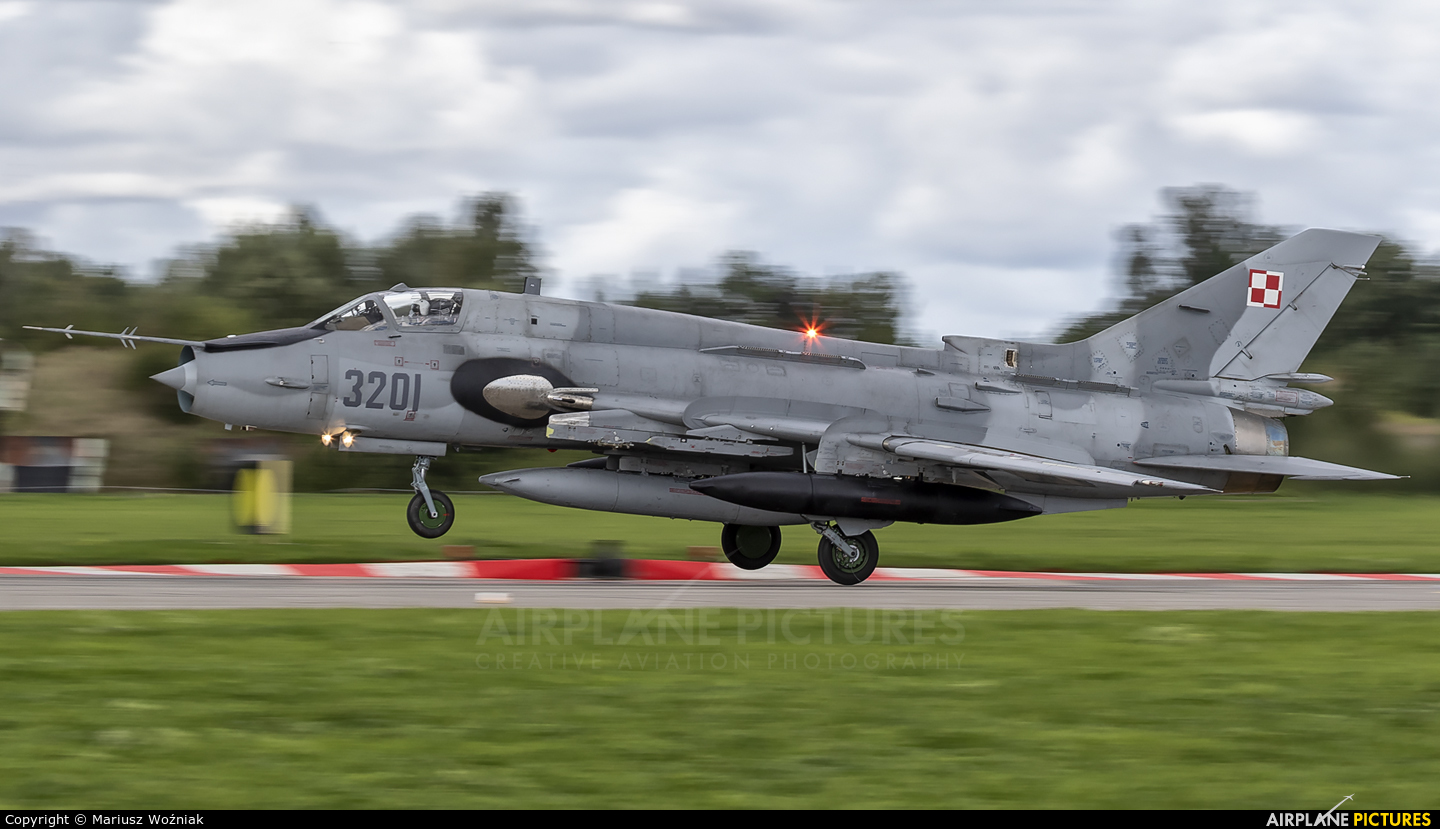 Poland - Air Force 3201 aircraft at Malbork
