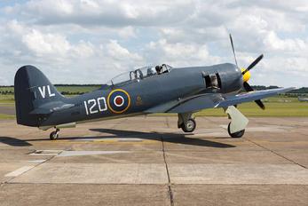 "G-RNHF - Royal Navy ""Historic Flight"" Hawker Sea Fury T.20"