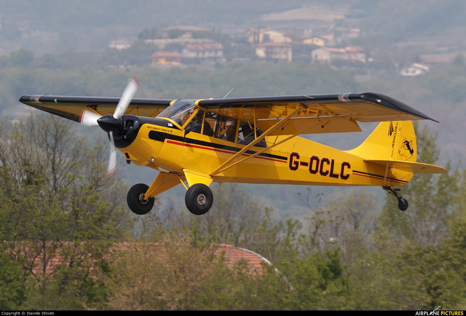Caledonian Seaplanes G-OCLC aircraft at Verona - Boscomantico