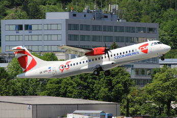 OK-GFQ - CSA - Czech Airlines ATR 72 (all models)