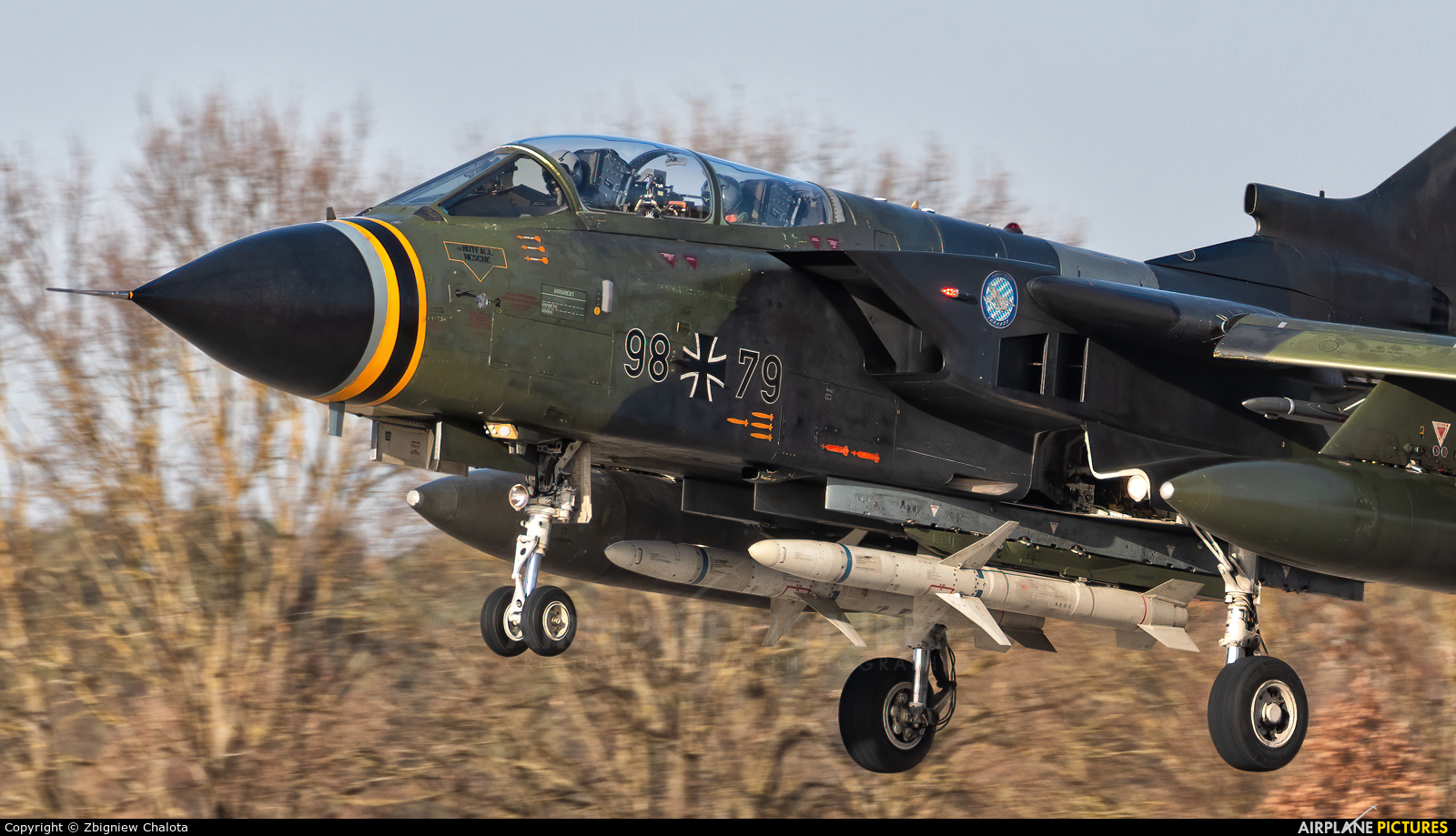 Germany - Air Force 98+79 aircraft at Ingolstadt - Manching