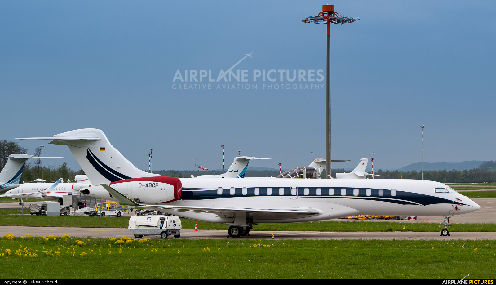 K5 Aviation D-ASCP aircraft at Zurich