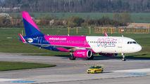 HA-LSA - Wizz Air Airbus A320 aircraft