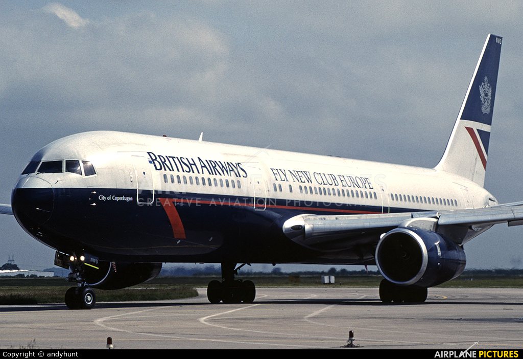 British Airways G-BNWD aircraft at Paris - Charles de Gaulle