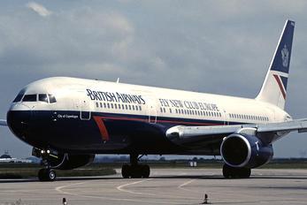 G-BNWD - British Airways Boeing 767-300