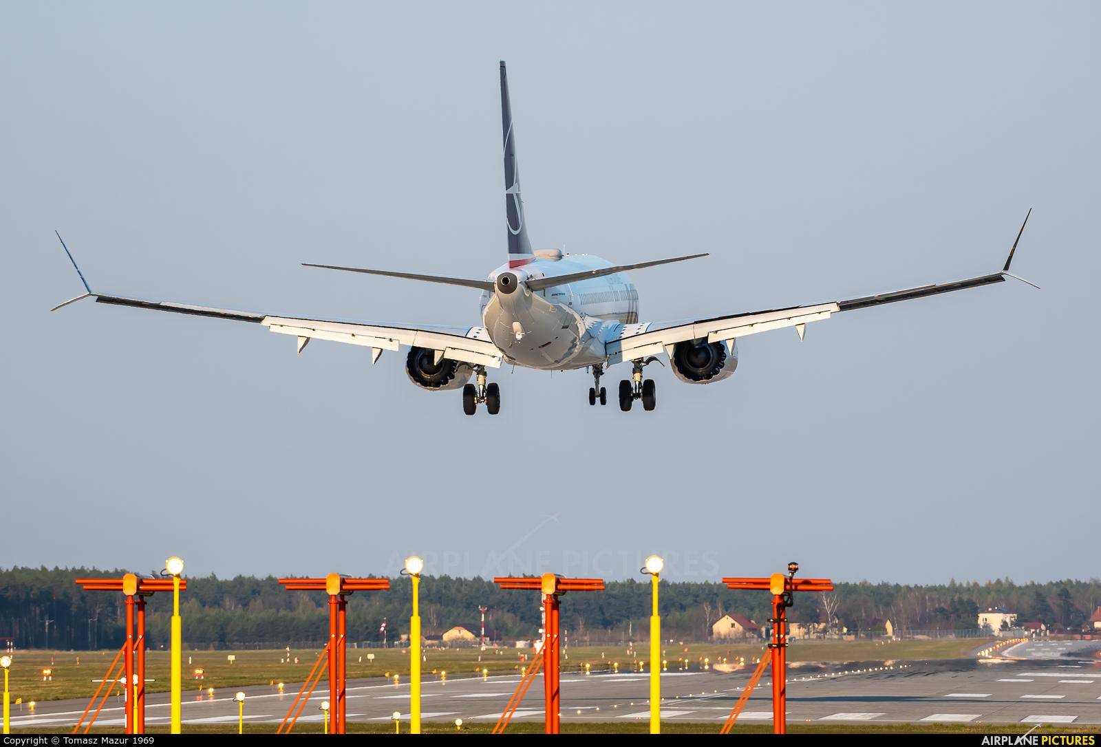 LOT - Polish Airlines SP-LVA aircraft at Katowice - Pyrzowice