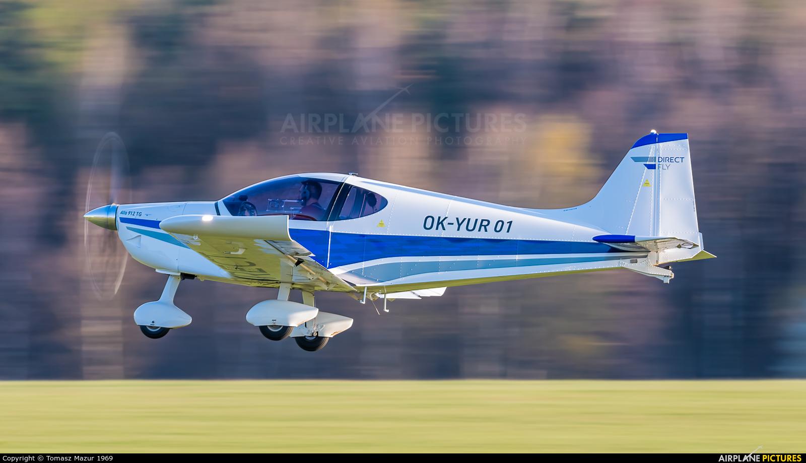 Private OK-YUR 01 aircraft at Rybnik - Gotartowice