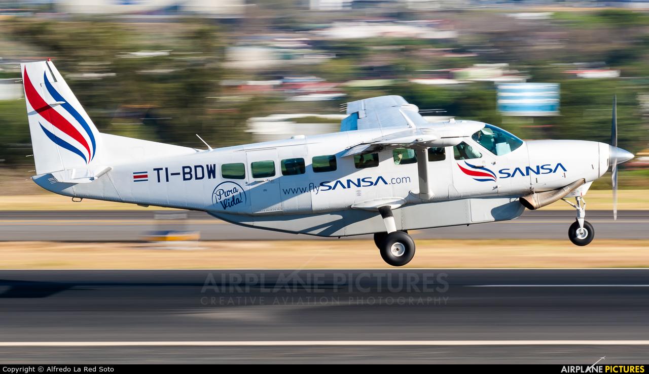Sansa Airlines TI-BDW aircraft at San Jose - Juan Santamaría Intl