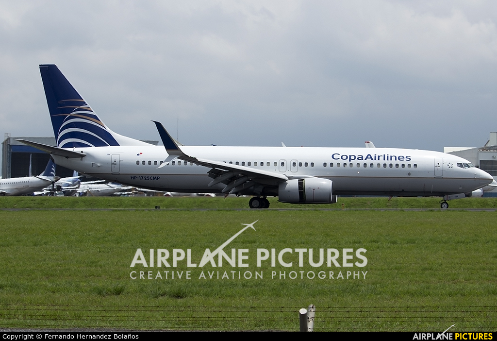 Copa Airlines N743AV aircraft at San Jose - Juan Santamaría Intl