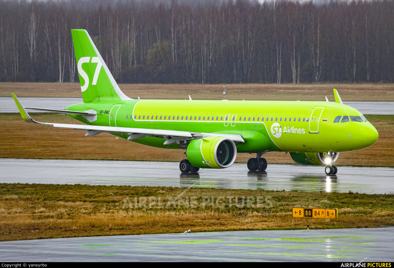S7 Airlines VP-BWC aircraft at St. Petersburg - Pulkovo