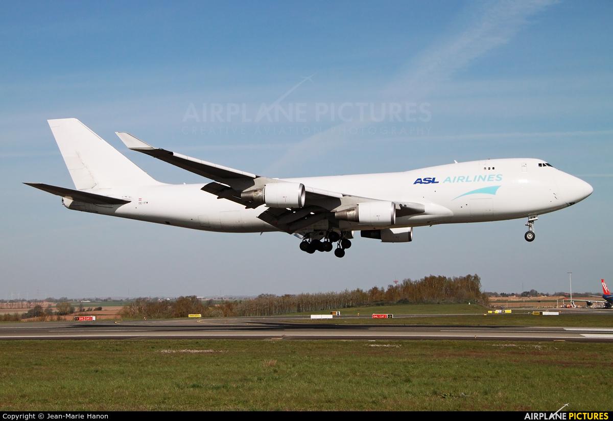 ASL Airlines Belgium OE-IFM aircraft at Liège-Bierset