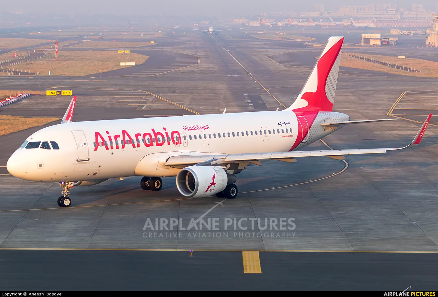 Air Arabia A6-AON aircraft at Mumbai - Chhatrapati Shivaji Intl