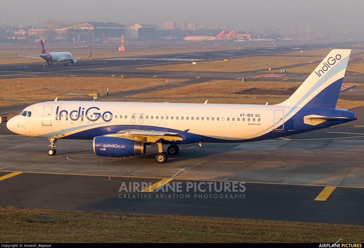 IndiGo VT-IEG aircraft at Mumbai - Chhatrapati Shivaji Intl