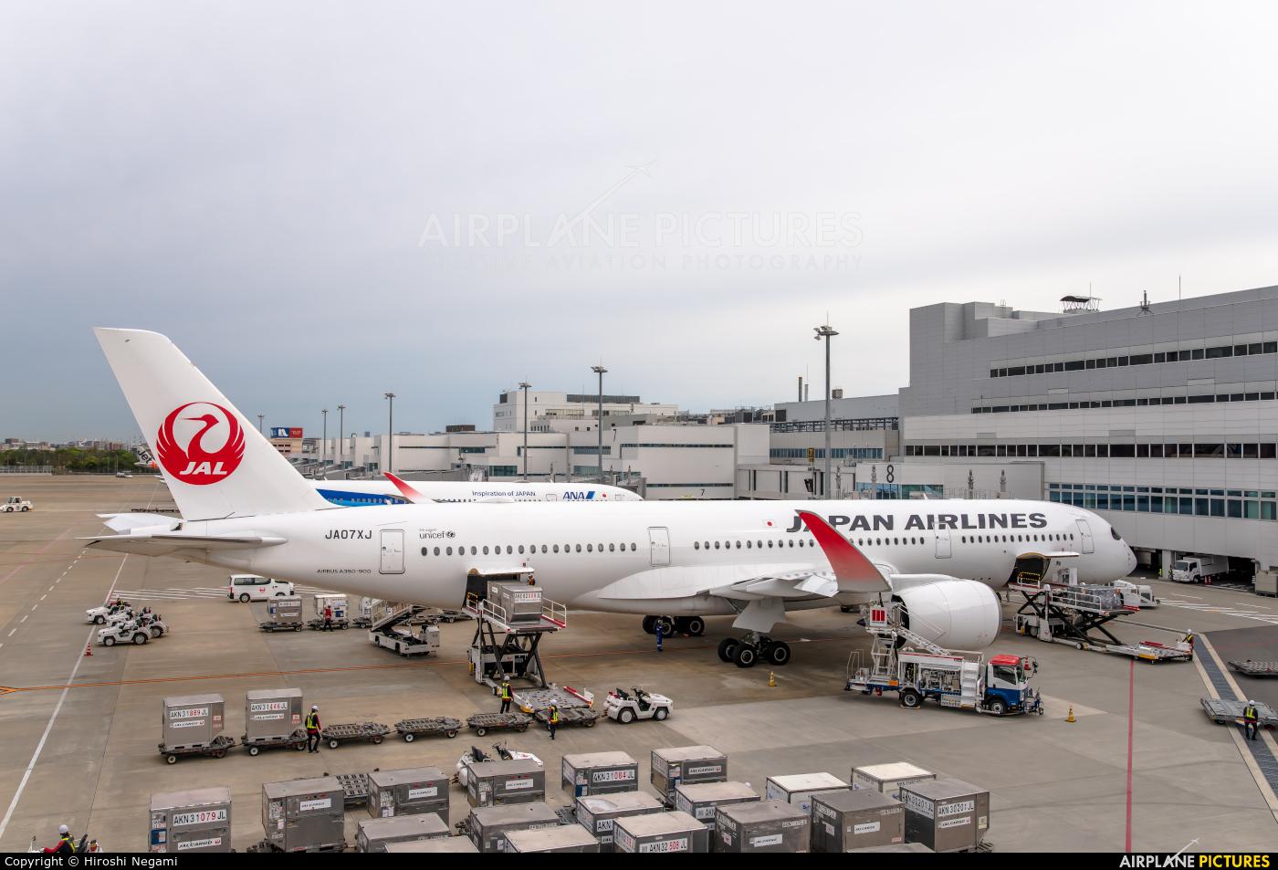 JAL - Japan Airlines JA07XJ aircraft at Fukuoka