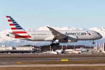 N870AX - American Airlines Boeing 787-8 Dreamliner