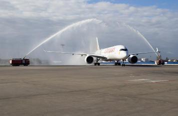 ET-AYB - Ethiopian Airlines Airbus A350-900