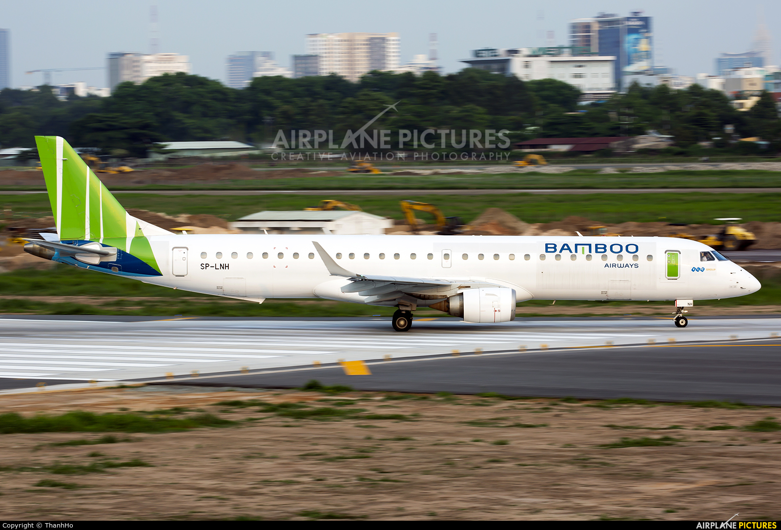 Bamboo Airways SP-LNH aircraft at Ho Chi Minh City - Tan Son Nhat Intl