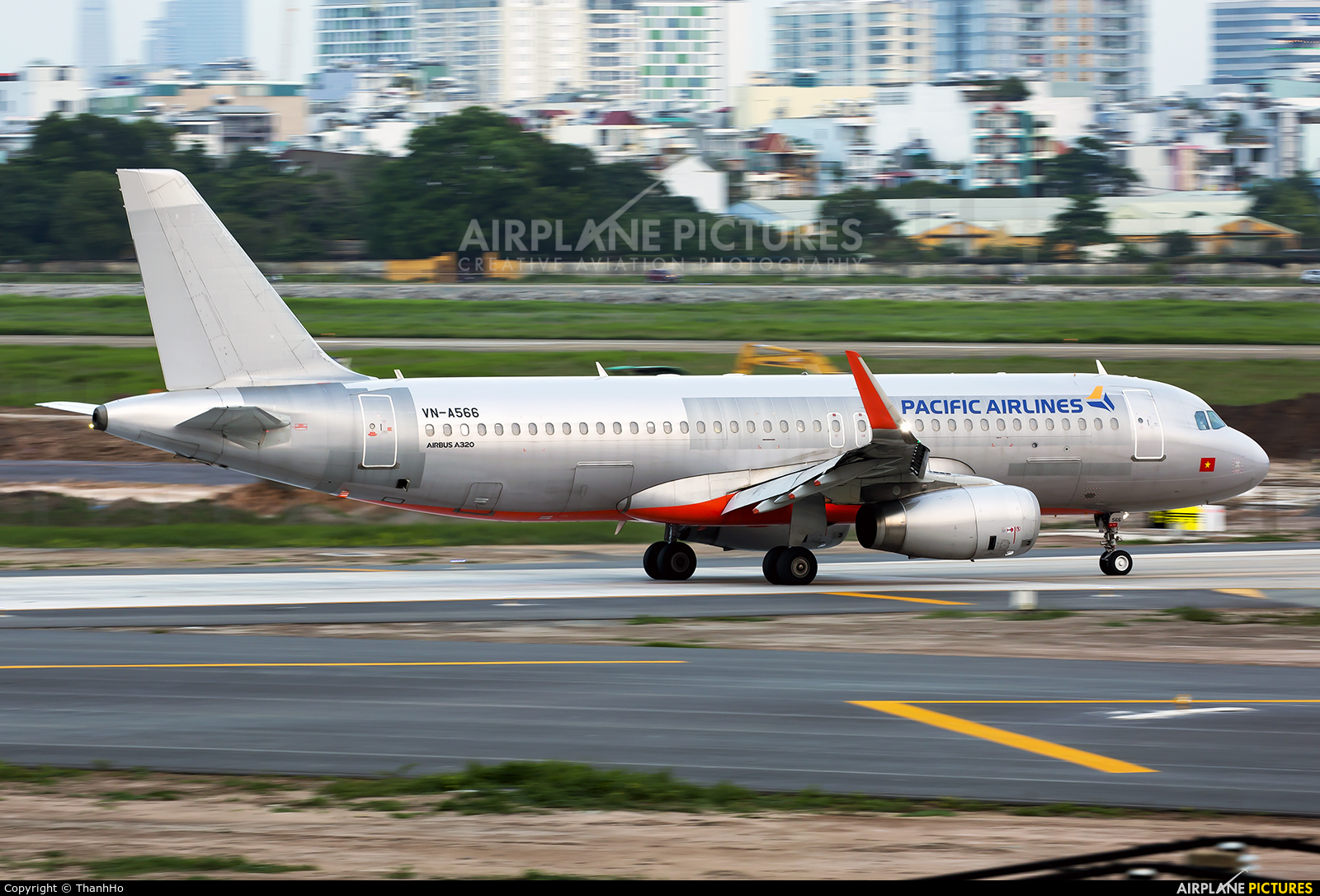 Pacific Airlines VN-A566 aircraft at Ho Chi Minh City - Tan Son Nhat Intl