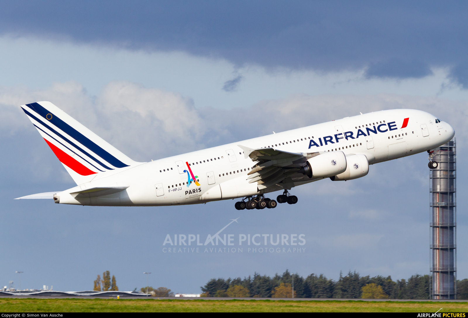 Air France F-HPJJ aircraft at Paris - Charles de Gaulle
